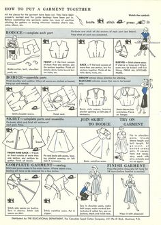 How to put a garment together  |  Colette Blog