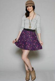 Vestido de moda juvenil - Imagui