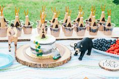 Haukur's Birthday Party! / Teepee Dirt Cups / wild and one / first birthday / our little bear :) //: Anna Corinne Photography