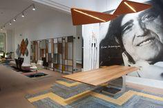 Mesa Niemeyer del maestro Oscar Niemeyer para Estel Oscar Niemeyer, Showroom, Barcelona, Conference Room, Table, Furniture, Home Decor, Mesas, Decoration Home