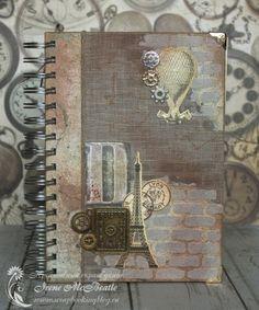 Another vintage men's notebook.