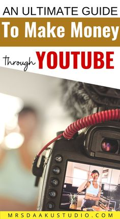If you are thinking to start a youtube channel and make money online then this post talks all about starting a youtube channel and how to monetize it. Make Money From Home, How To Make Money, Medical Transcription, Making Money On Youtube, Earn Money Online, Things To Sell, Channel, Internet, Make Money Online
