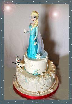 Elsa, Frozen cake, torta frozen