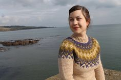Ravelry: Project Gallery for Riddari pattern by Védís Jónsdóttir for Ístex Knitting Patterns Free, Free Knitting, Ice Candy, Icelandic Sweaters, Hand Knitted Sweaters, Cardigan Pattern, Knitting Projects, Stitches, Knitwear