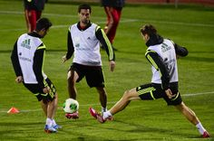 2013-11-14 training session at the Sport City ground in Las Rozas, near Madrid.