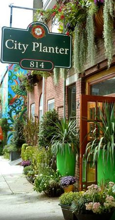 City Planter 814 - specializes in garden planters...can't you just tell? via Retail Details
