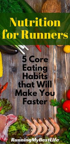 Nutrition for Runners: 5 Core Eating Habits that Will Make You Faster 5 core nutrition habits allow elite runners to maximize performance and maintain a lean body. These nutrition rules work the same for recreational runners. Marathon Training For Beginners, Half Marathon Training Plan, Running For Beginners, Running Tips, Running Race, Running Training, Trail Running, Disney Running, Running Humor