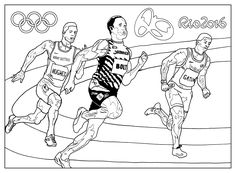 Free coloring page coloring-adult-rio-2016-olympic-games-athletism. Rio 2016 Summer Olympic Games (5-21 Aug) : Sport : Athletism. By Sofian