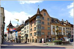 Schaffhausen old town