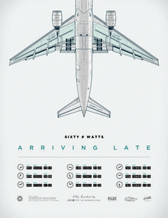 Sixty Watts – Arriving Late