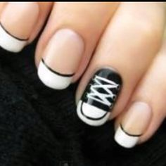 Shoe nails!!!! I <3 convers