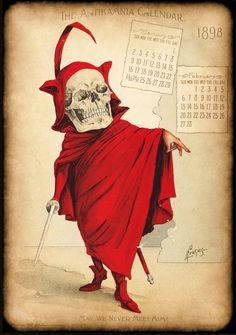 The Antikamnia Chemical Company calendar, 1898