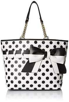 dd58db428a92 Betsey Johnson Gift Me Baby Tote Shoulder Bag