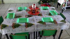 Mesa navideña #posadaniños