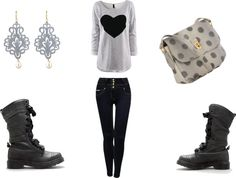 """""""Winter Ain't Over Yet..."""" by iammusic99 ❤ liked on Polyvore"""