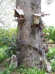high rise fairy houses!