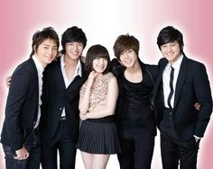 Boys Over Flowers. Geum Jan Di and F4 Boys Over Flowers, Boys Before Flowers, Flower Boys, Asian Actors, Korean Actors, Korean Dramas, Korean Celebrities, Celebs, Geum Jan Di
