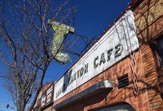 """ Grand Canyon Café "" in Flagstaff Arizona   "" Route 66 on My Mind "" Route 66 blog ; http://2441.blog54.fc2.com https://www.facebook.com/groups/529713950495809/ http://route66jp.info"