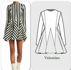 Fashion Sewing, Diy Fashion, Trendy Fashion, Fashion Outfits, Fashion Design Drawings, Fashion Sketches, Dress Sewing Patterns, Clothing Patterns, Illustration Mode