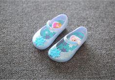 2016 Mini Melissa Frozen Girl Sandals Elsa Jelly Sandals Flat Shoes Kids Shoes Girl's Shoes Princess Shoes Toddler Girl Sandal Frozen Shoes Online with $11.72/Pair on Linwei156's Store   DHgate.com