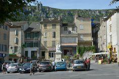 #Florac #villageétape #LangudocRoussillon #Lozere #cevennes #terrasse #airdevacances