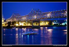Murray Baker Bridge, Peoria, Illinois