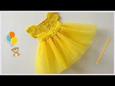 Prenses Bebek Elbisesi Nasıl Örülür? (Başlangıç zinciri 105) - YouTube