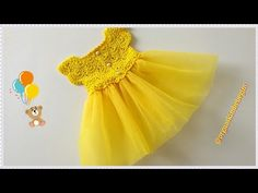 How to Knit a Princess Baby Dress? Knit Headband Pattern, Knitted Headband, Head Wrap Headband, Diy Headband, Crochet For Kids, Knit Crochet, Baby Princess, Crochet Videos, Kind Mode