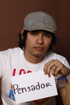 Thinker, AzaelLópez, Vendedor de Libros, Monterrey, México.