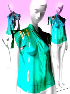 """Release on box - El arte de la moda y su marketing en clave metafórica: @Pinterest: 3 Colores: esmeralda #esmeralda #in. """"La chaqueta esmeralda""""  diseño de Montse Fabra"""