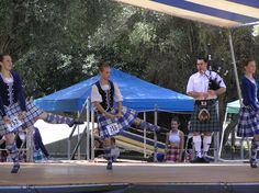 On the left - kilt with royal blue jacket #Milne #Royal #Tartan