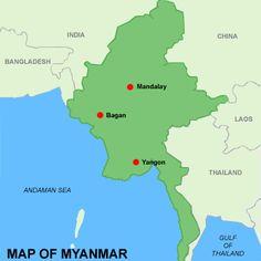 map of Burma locator map of Burma Myanmar in Asia ASBANGLADESH