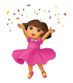 dora in pink - Google Search
