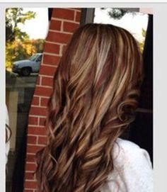 hair color ideas for brunettes: hi-lites