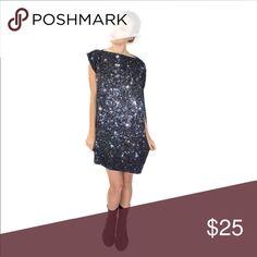 Stars galaxy dress Nwt one size fits all Dresses