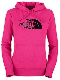 Women's The North Face Half Dome Hoodie Passion Pink