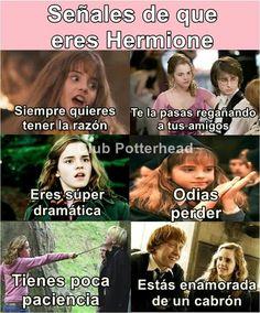 O POR DIOS SOY HERMIONE!