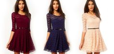$19 for a Dakota Lace Dress - Tax Included ($65 Value)