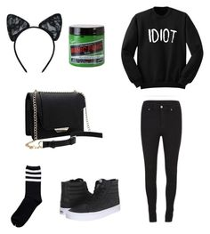 """Untitled #30"" by emo-skinny-jeans ❤ liked on Polyvore featuring Vans, Cheap Monday and Maison Close"