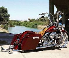 Harley Davidson News – Harley Davidson Bike Pics Harley Bagger, Harley Davidson Trike, Bagger Motorcycle, Harley Softail, Harley Bikes, Harley Davidson Street Glide, West Coast Choppers, Road King, Triumph Motorcycles