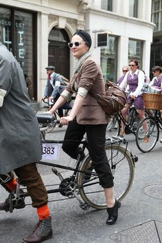 Tweed Run Street Style 3