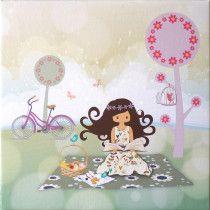 Galerie - tableaux imprimes - Decoration - Enfants Le petit monde de zoé
