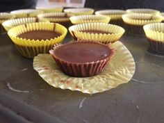Fat Bombs: Chocolate Almond Delights - frominsideabubble Ingredients: • ½ cup butter • ½ cup almond butter • ½ cup virgin coconut oil • 1 square unsweetened chocolate • sweetener to taste- your...