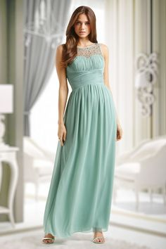 Little Misstress Sage Embellished Mint Green Maxi Dress 108 40 15391 1