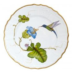 Hummingbird Dinner Plate
