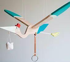 eguchi toys | Mobile Bird - Pelican