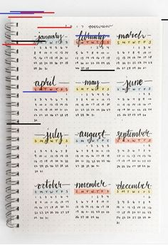 Bullet Journal Future Log - Setup Guide & Usage Ideas The future log in your bullet journal gives you a yearly overview of the year. See how to set up a bullet journal future log or use my free PDF pritnable. #journaling #bulletjournal #planners