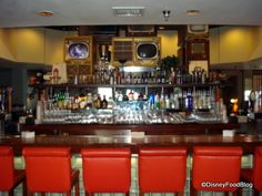 Top 10 Disney World Bars and Lounges--For when Grandma and Grandpa are in charge. Run Disney, Disney World Trip, Disney Tips, Disney World Resorts, Disney Dream, Disney Vacations, Disney Drinks, Disney Food, Bar Stuff