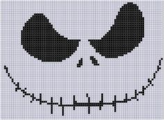 Looking for your next project? You're going to love Nightmare Before Christmas Cross Stitch  by designer bracefacepatterns. - via @Craftsy