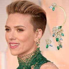 Scarlett Johansson in @piagetbrand #Oscars #Oscarsjewelry #Highjewelry…